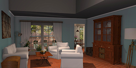 example room design Lubéron Living Room