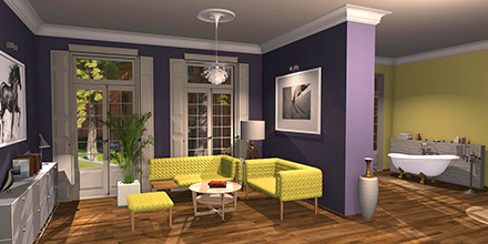 example room design Dulux